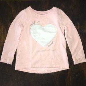NWOT Carter's Girls Sweatshirt 5T